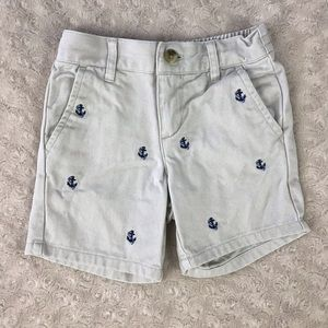 Janie and Jack Anchor Shorts Size 6-12 Months